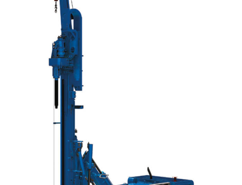 Rental Soilmec SM 14 micropile and jet grouting machine