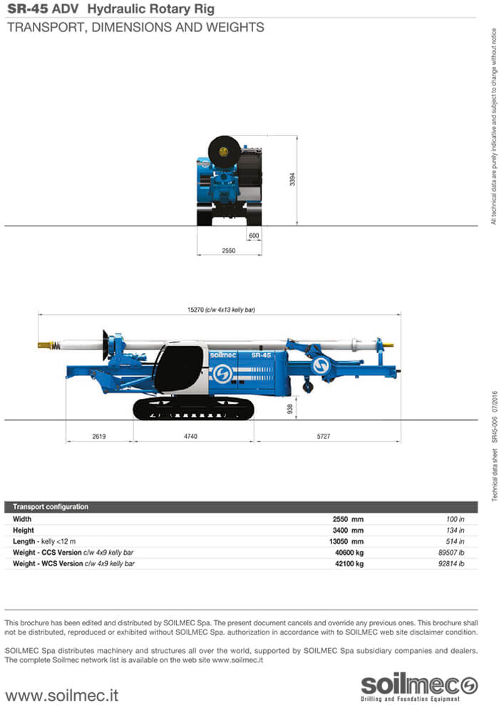 Soilmec-SR45
